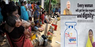 line-for-carosine-and-ujjwala-yojna-of-pm-modi-making-india
