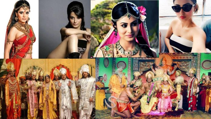 real life characters of mythological serial artists