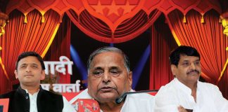 UP stage drama akhilesh shivpal mulayam making india
