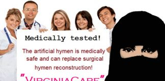Virginia-Care-Artificial-Hymen-muslim women making india