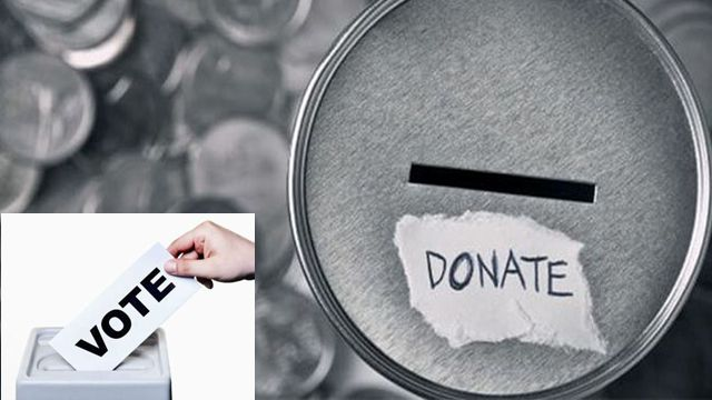 donate-money not vote making india