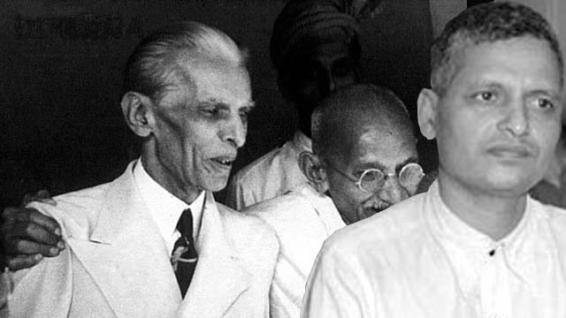 Nathuram Godse-Jinnah-Gandhi-making-india