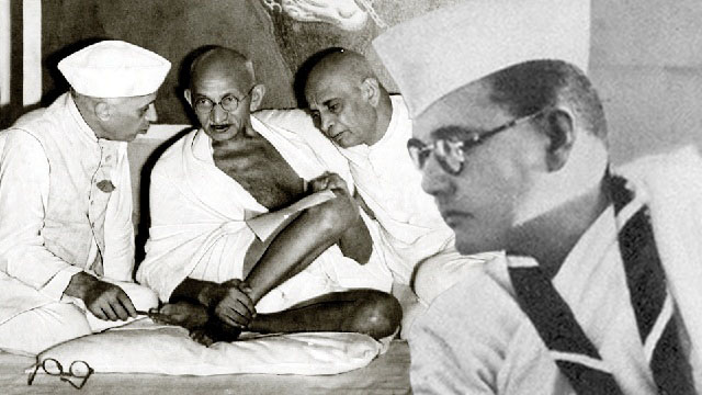 netaji-gandhi-patel-nehru-making-india