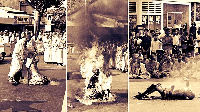 ma jivan shaifaly burning-monk-feat malcolm brown photographer making india