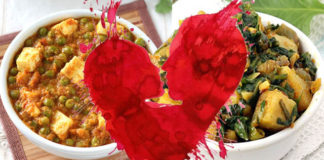 valentines-day-matar-paneer-aloo-palak-making-india