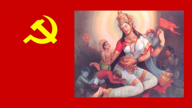 ma jivan shaifaly hindu jivan shaily communism making india