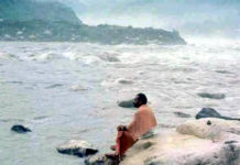 modi at ganga river making india