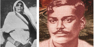 chandrashekhar azad and his mother making india