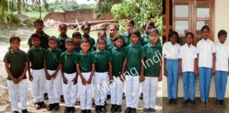 udayan school children in new school report